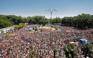 Os indignados na Espanha