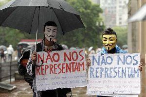 Em São Paulo, 70 manifestantes