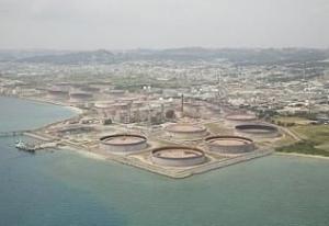Empresa Nansei Sekiyu KK, de propriedade da Petrobras, tem uma produção diária de 100.000 barris na refinaria de Nishihara, em Okinawa, no sudoeste do Japão