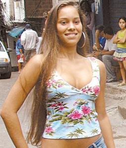 Modelo Luana Rodrigues de Souza