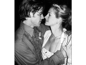 Casamento de Julia Robert e Danny Moder.Os 50 convidados acreditaram que estavam indo a uma festinha