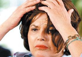 Dilma Rousseff com peruca