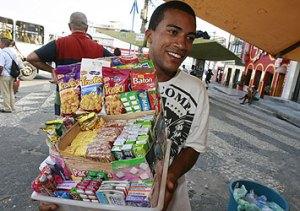 Lucas Bahia tem o sonho de abrir uma bomboniere