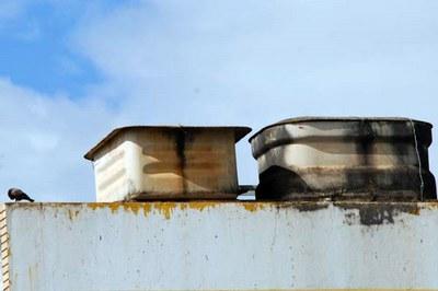 Esta foto faz parte da paisagem urbana brasileira