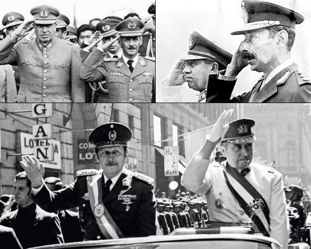 Pinochet Banzer Videla Stroessner