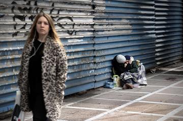 Pobreza em Atenas