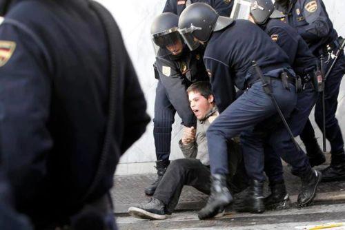 ... contra a brutalidades policial
