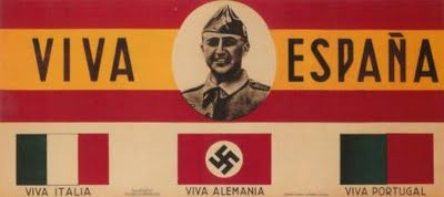 Cartaz de propaganda do franquismo