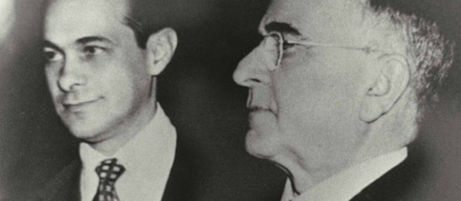 Tancredo Neves e Getúlio Vargas