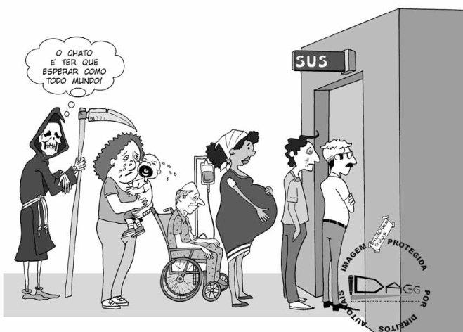 ... o SUS - Sistema Único de Saúde dos pobres do Brasil