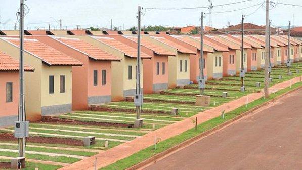 Casas populares do primeiro projeto habitacional do projeto Minha Casa, Minha Vida, no estado de São Paulo (Tuca Melges/Agência Estado)
