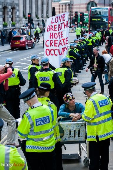 Protesto em Londres