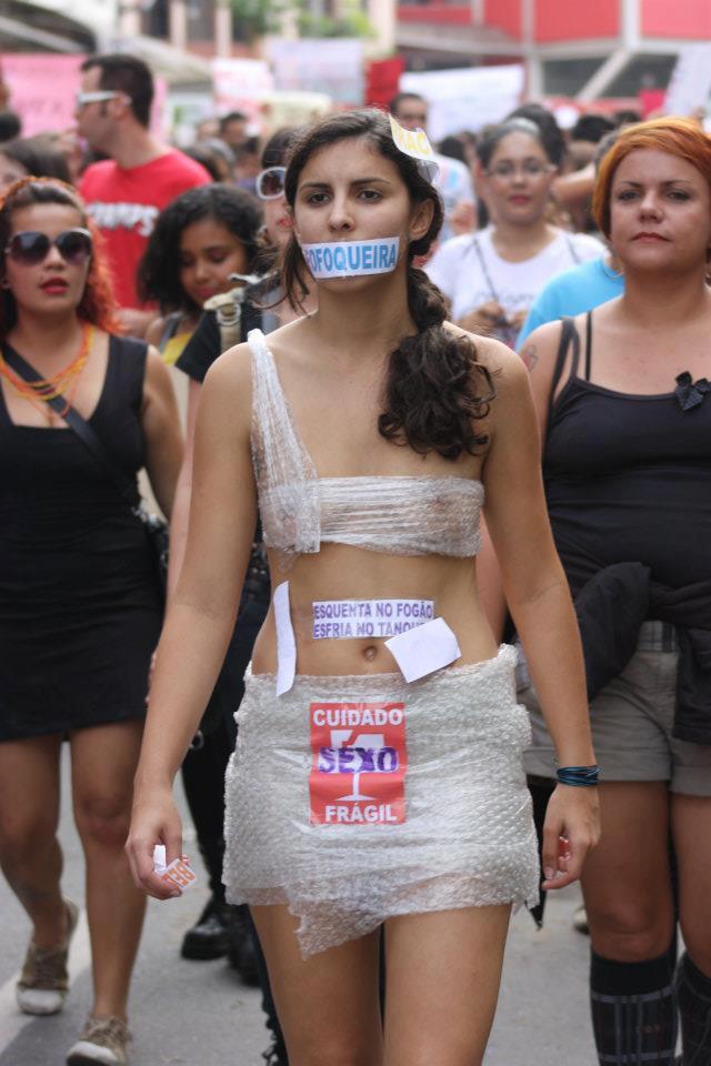 Marcha das Vadias em Belo Horizonte
