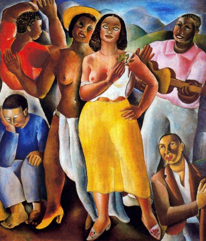 Samba, por Di Cavalcanti