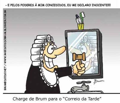 Resultado de imagem para CORRUPÇÃO NOS TRES PODERES CHARGES