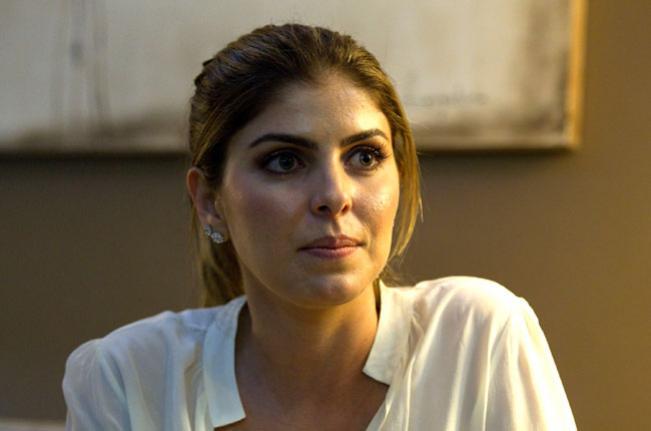 Andressa Mendonça, porta-voz e amante do bicheiro Cachoeira, e candidata à musa da CPI