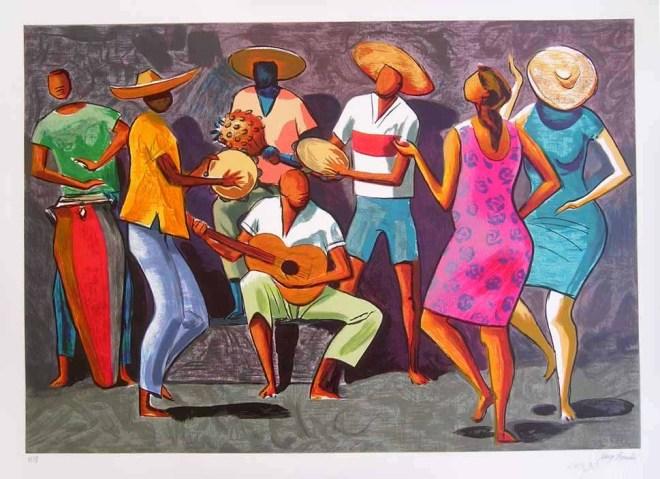 Roda de Samba, por Carybé