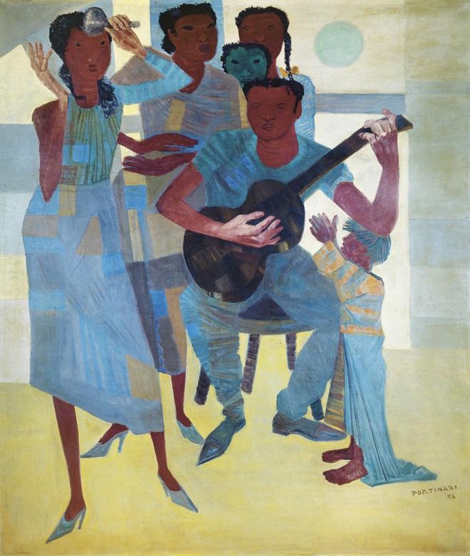 Samba, por Portinari