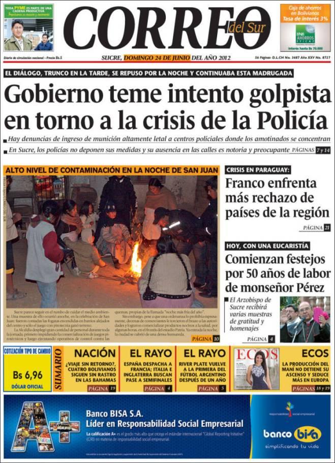Bolívia hoje