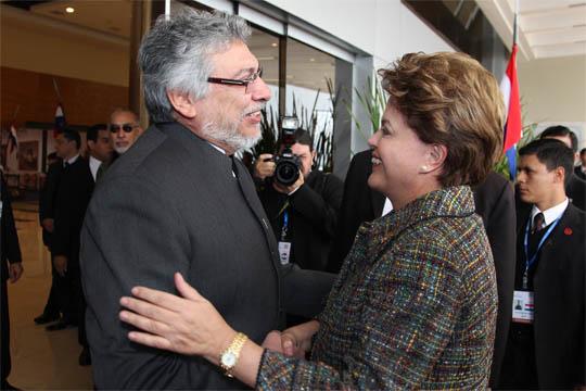 Fernando Lugo y Dilma Rousseff