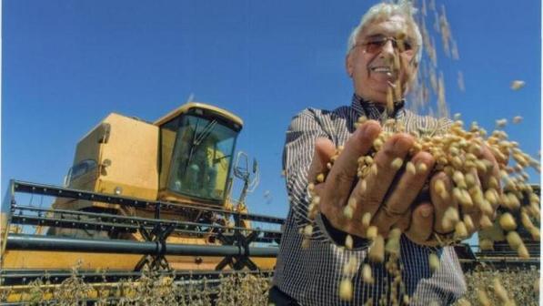 """""""Rei da Soja"""" e """"Dono de Meio Paraguai"""", empresário brasileiro Tranquilo Favero, de 74 anos"""