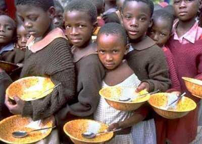 Quanto mais ouro descoberto mais fome