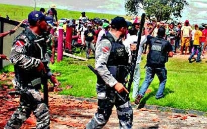Confronto entre integrantes do MST e seguranças da fazenda quase terminou em morte: 12 camponeses feridos