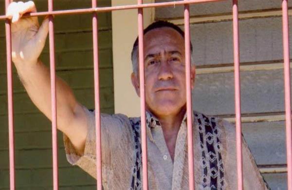 Lino Oviedo, durante su prisión, condenado a 10 años de cárcel por intento de Golpe de Estado