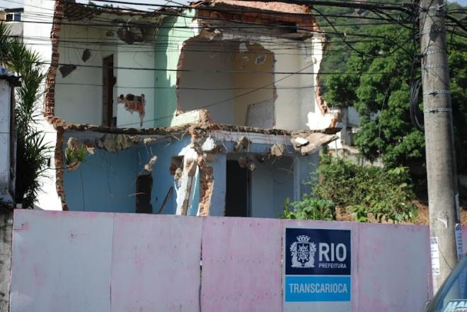 Foto Renato Cosentino. No Morro da providência 1700 pessoas serão despejadas