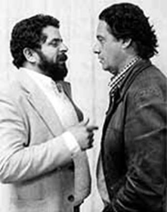 Lula e Fernando Henrique