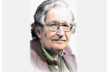 Noam Chomsky, filósofo norteamericano.