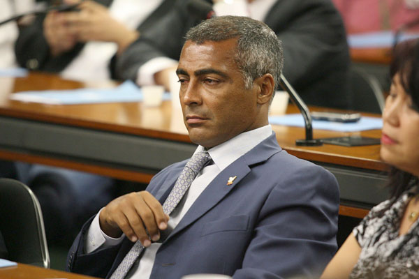 Romário na Câmara dos Deputados