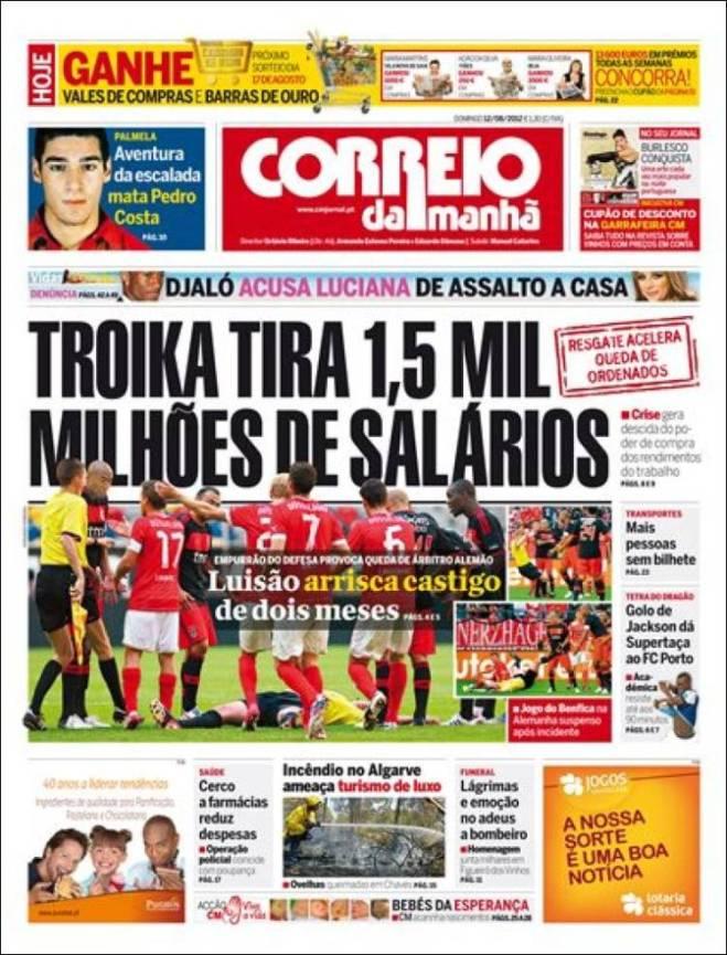 Troika rouba empregos em Portugal