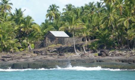 Celda fortificada en la Isla del Diablo donde estuvo confinado Dreyfus. Sólo podía caminar 1 hora al día y dentro del mini recinto amurallado
