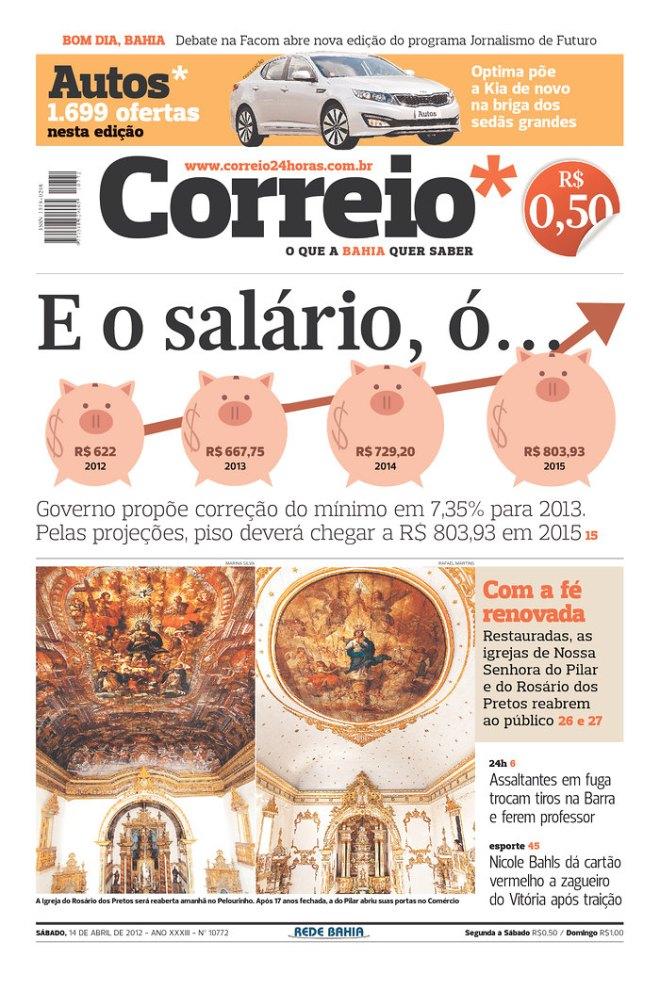 Edição de 14 de abril de 2012