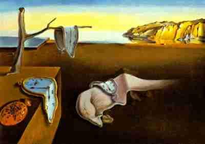 A Persistencia da Memória, por Dalí