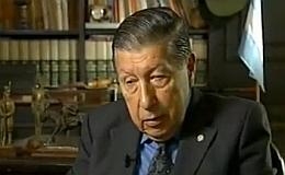 Represor Mario Benjamín Menéndez hoy