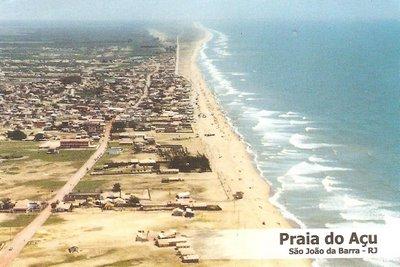 Praia do Açu antes da Eikelândia