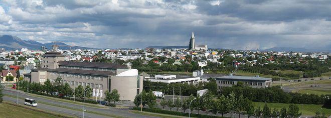 Reykjavík, maior cidade