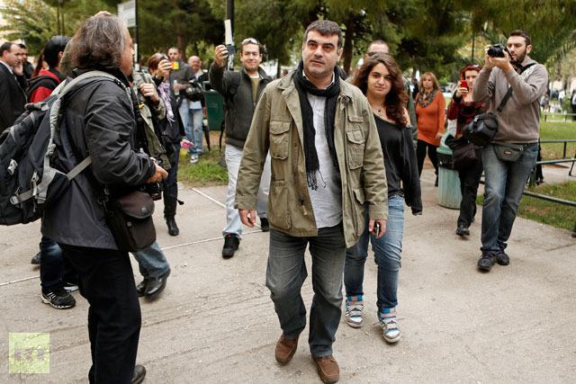 O apoio do povo e da imprensa libertou Kostas Vaxevanis