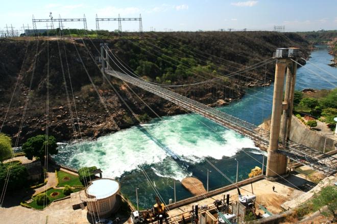 O Complexo Hidrelétrico de Paulo Afonso é um conjunto de usinas, localizado na cidade de Paulo Afonso, que produz 4.000 megawatts de energia, gerada a partir so desnível natural de 80 metros da cachoeira de Paulo Afonso, no rio São Francisco