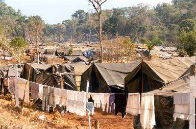 Acampamento dos sem-terras