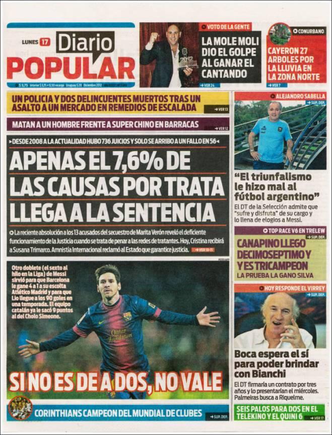 ar_diario_popular.Argentina justiça tráfico