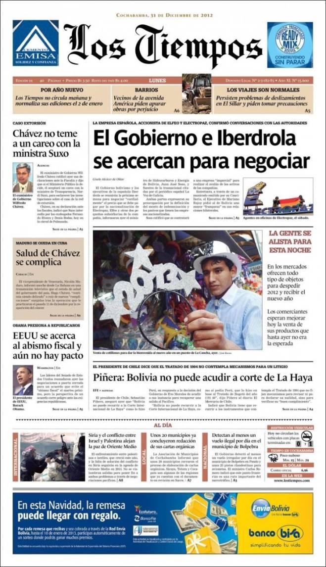 Jornal boliviano