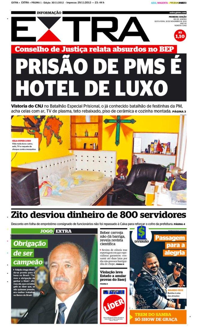 BRA^RJ_EX hotel de luxo para bandidos policiais