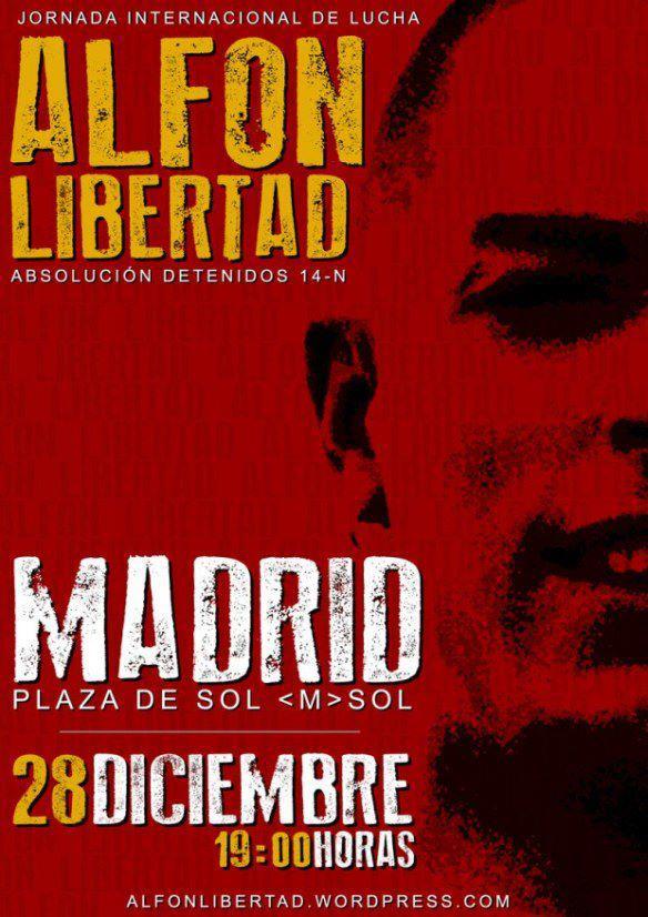 Espanha preso liberdade