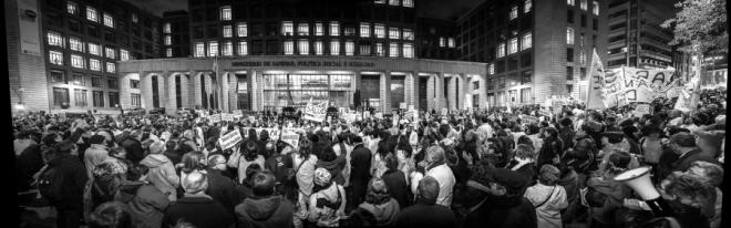 Greve dos Médicos (Onda Branca) em Madri