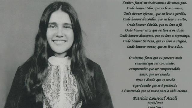 Juíza Patrícia Acioli, foto de formatura