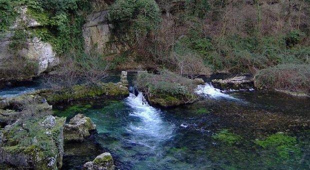 Manacial de água subterrânea na França