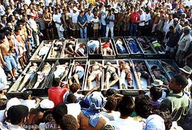 Carajás, o massacre impune e corriqueiro, principalmente nas favelas do Rio de Janeiro e São Paulo